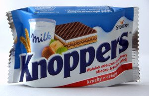 Knoppers At Aldi