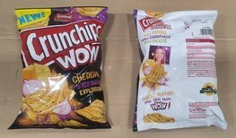 CRUNCHIPS WOW Cheddar onion 110g