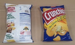 CRUNCHIPS X-CUT Cheese&Onion 140g
