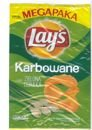 Chips Lay's Corrugated Green Chives 225 g