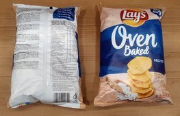 Chips Lay's Oven Baked Salted 200 g