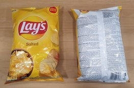 Chips Lay's Salted 215 g