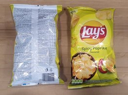 Chips Lay's Spicy Paprika 140 g