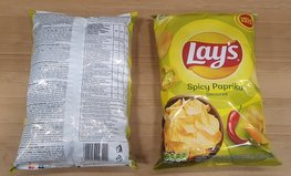 Chips Lay's Spicy Paprika 215 g