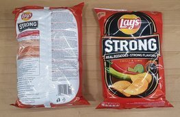 Chips Lay's Strong Chilli&Lime 215 g