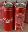 Coca Cola 330 ml SLEEK (24) origin UKR with sticker
