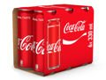 Coca Cola 6x330 ml cans SLEEK