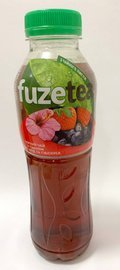 FUZETEA Black Ice Tea Berry and Hibishop  PET 500 ml UKR