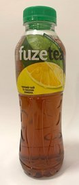 FUZETEA Black Ice Tea Lemon PET 500 ml UKR