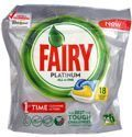 Fairy Platinum All In One 18 Dishwasher Capsules Lemon 268 g