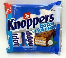 Knoppers 120g (3 x 40 g) Coconut