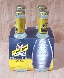 Schweppes  Tonic glass 4x200 ml