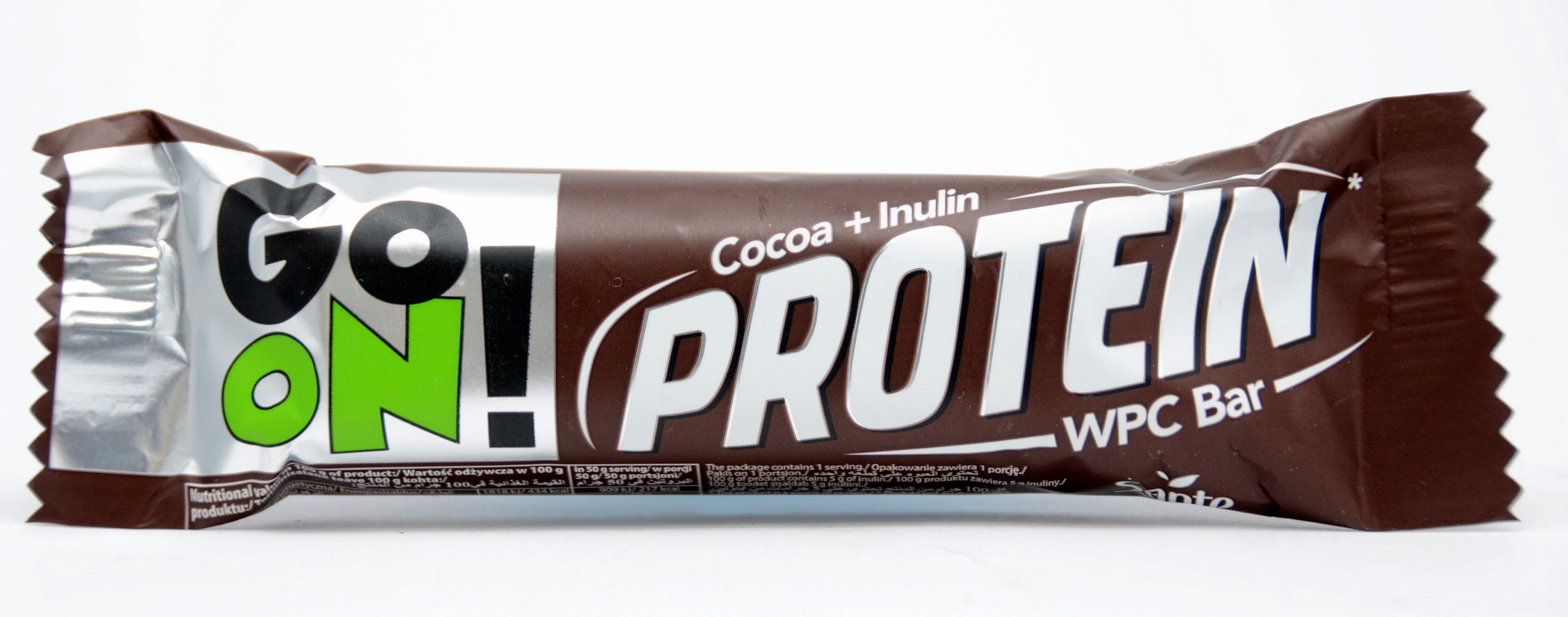 Go On Protein Cocoa Inulin Wpc Bar 50 G Confectionery Sante