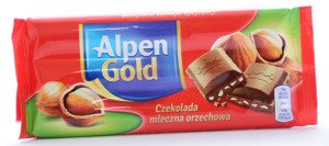 Alpen Gold Milk Chocolate Nut 90 g