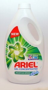 Ariel Mountain Spring Gel Concentrated 2.2 L  & Ariel Color  Gel Concentrated 2,2L