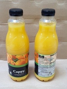 CAPPY JUICE  ORANGE 1L