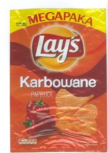 Chips Lay's Corrugated Pepper 225 g