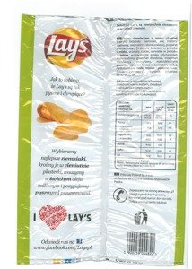 Chips Lay's Hot Pepper  225 g