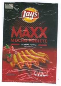 Chips Lay's Maxx Red Pepper 210 g