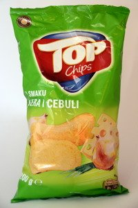 Chips Top with cheese and onion taste 200 g