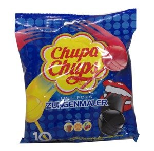 Chupa Chups Flavoour Lollipops: cherry, cola and orange 10 units 120 g