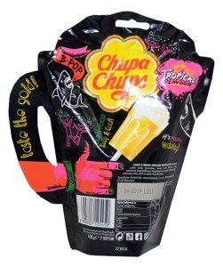 Chupa Chups Lollpops Tropical flavour  7 units 105 g