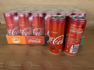 Coca Cola Cherry CAN 330 ml Summer 2019