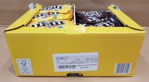 Display m&m's 45 g x 46 pcs PEANUT & m&m's 45 g x 27 pcs CHOCOLATE