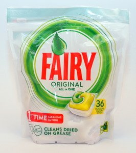 Fairy Platinum All in One 6x27 psc & Fairy Original All in One 4x36 pcs