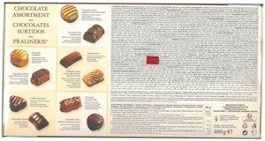 Feelings Chocolate Assortment - Chocolate Surtidos - Pralinerie 400 g