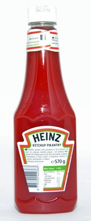 Heinz Ketchup Spicy 570 g