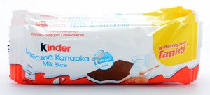 Kinder Milk Slice 5 x 28 g