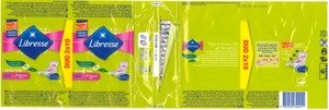 Libersse Ultra Thin 10 Normal Aloe Vera & Camomile DUO 2X10