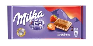 Milka Strawberry Yoghurt 100 g