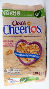 Nestle Cereal Cheerios Oats  210 g