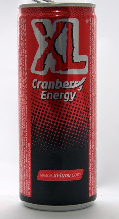 XL Cranberry Energy CAN 250 ml