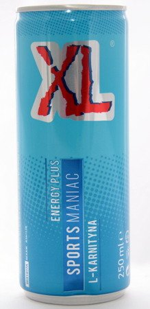 XL Energy Plus Sports Maniac  CAN 250 ml