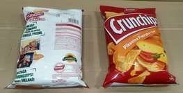 CRUNCHIPS Spicy papper&cheese 140g