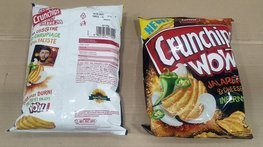 CRUNCHIPS WOW Jalapeno 110g