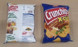 CRUNCHIPS X-CUT Chicken&Vegetable 140g