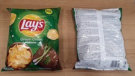 Chips Lay's Green Onion 265 g