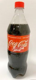 Coca Cola 1 L (12) origin UKR