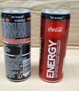Coca Cola ENERGY No Sugar 250 ml cans SLEEK