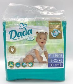 Dada 5 Junior extra soft 15-25 kg 39 szt