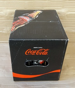 Coca Cola ZERO 330 ml Glass Bottle
