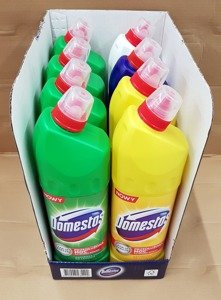 Domestos Citrus Fresh & Pine Fresh & Original & White Gloss 1250 ml