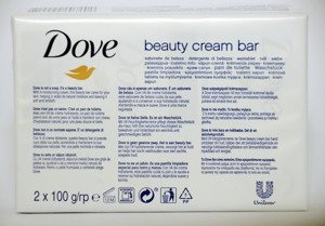Dove beauty cream bar 2x100 g