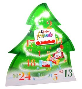 Kinder Friends Advent Calendar 135g