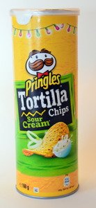 Pringles Tortilla Chips Sour Cream 160 g