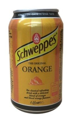 Schweppes Orange CAN 330 ml